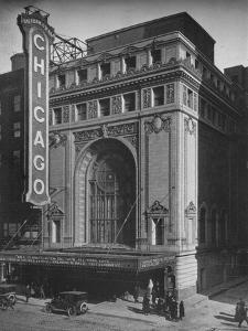 Front elevation, the Chicago Theatre, Chicago, Illinois, 1925