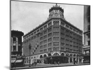 Front elevation, the Golden Gate Theatre, San Francisco, California, 1925