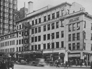 Front elevation, the James Theatre, Columbus, Ohio, 1925