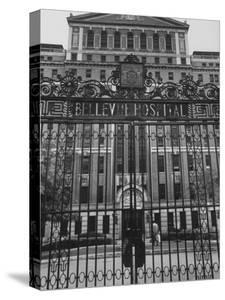 Front Gates of Bellevue Hospital