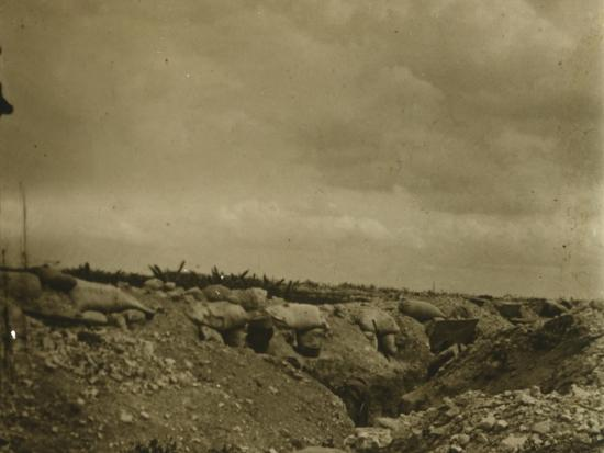 Front line, Jonchery, northern France, c1914-c1918-Unknown-Photographic Print