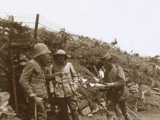 Front line towards Monastir, Serbia, c1916-Unknown-Photographic Print