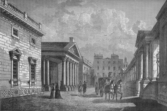 Front of Carlton House, Westminster, London, c1820 (1878)-Unknown-Giclee Print