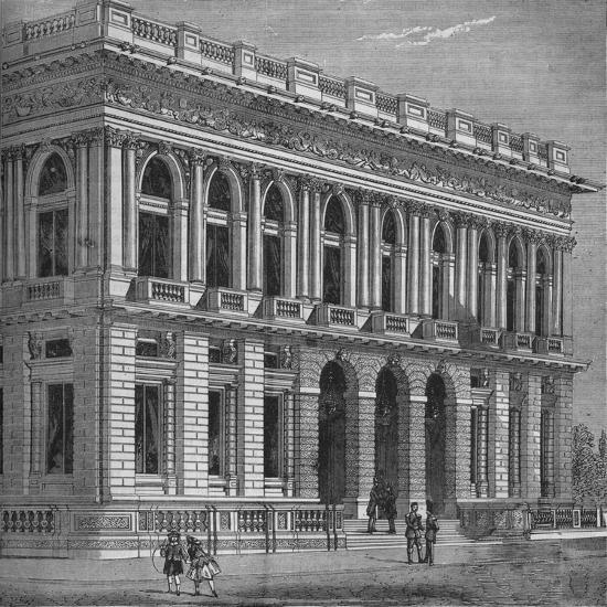 Front of the Army and Navy Club, Westminster, London, c1870 (1878)-Unknown-Giclee Print
