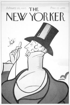 Front of the First Edition of the New Yorker Magazine, 21st February, 1925--Giclee Print