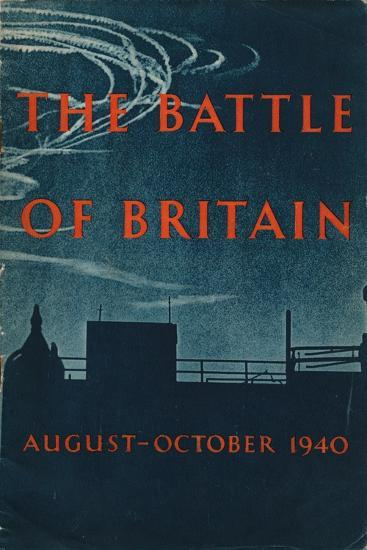 Front page of The Battle of Britain, 1943-Unknown-Giclee Print