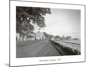 Front Street, Lahaina, 1917