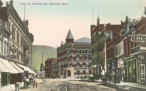 Front Street, Missoula, Montana