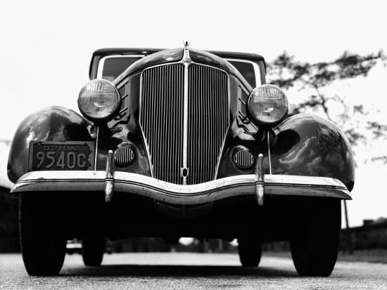 Front View of 1930S Car-H^ Armstrong Roberts-Photographic Print