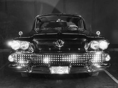 Front View of 1958 Buick-Andreas Feininger-Photographic Print