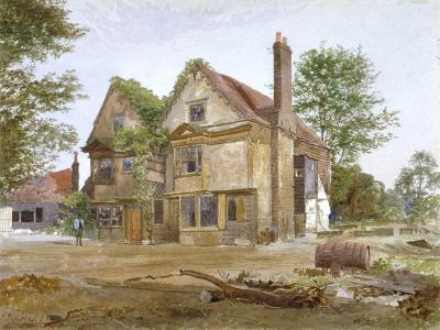 Front View of Basing Manor House, Peckham High Street, Camberwell, London, 1884-John Crowther-Giclee Print
