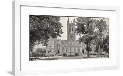 Front view of Gasson Hall, Chestnut Hill near Boston, Massachusetts, USA-Panoramic Images-Framed Photographic Print