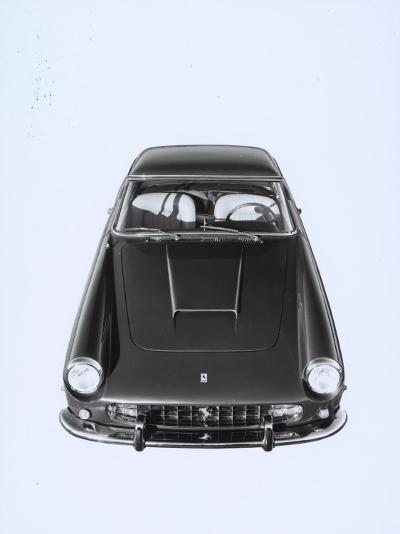 Frontal and Top View of a Ferrari Automobile-A^ Villani-Photographic Print
