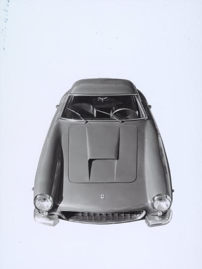 Frontal View of a Ferrari Automobile-A^ Villani-Photographic Print