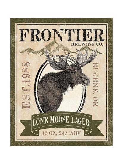Frontier Brewing II-Laura Marshall-Art Print