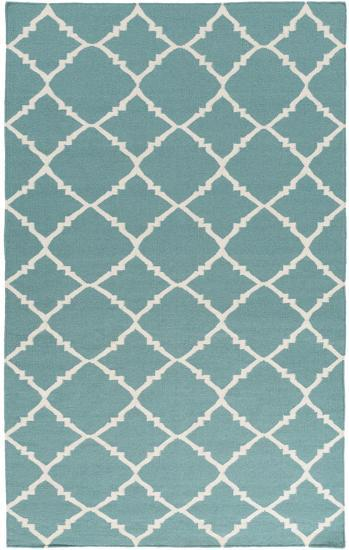Frontier Diamond Rug - Teal 5' x 8'--Home Accessories