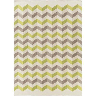 Frontier Origami Area Rug - Lime/Mocha 8' x 11'--Home Accessories