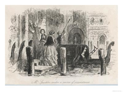 Frontispiece from the Centenary Edition of the Works of Charles Dickens--Giclee Print