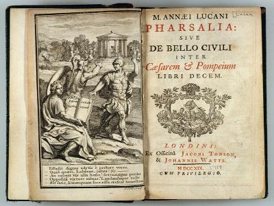 Frontispiece Pharsalia or Civil War Between Caesar and Pompey by Marcus Annaeus Lucan (Ad 39-65)--Giclee Print
