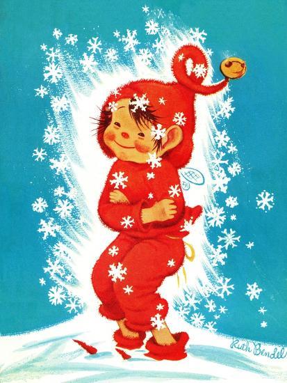 Frost Elf - Jack & Jill-Ruth Bendel-Giclee Print
