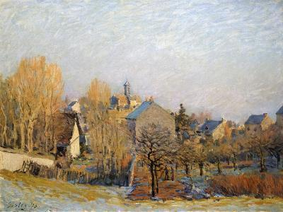 Frost in Louveciennes, 1873-Alfred Sisley-Giclee Print