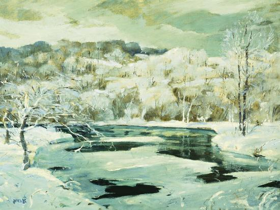 Frosted Trees-Jonas		 Lie-Giclee Print
