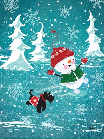 Frosty & Fab I-Teresa Woo-Art Print