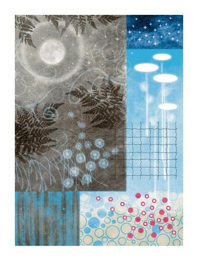 Frosty Moon I-Val Garcia-Art Print