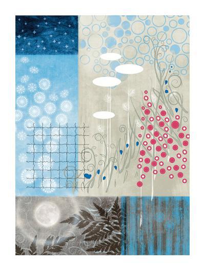 Frosty Moon II-Val Garcia-Art Print
