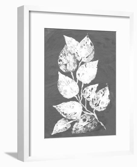 Frosty Philodendron II-Alicia Ludwig-Framed Art Print
