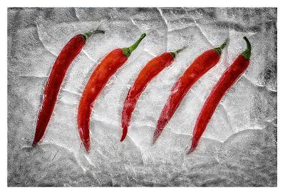 Frozen Fire-Secundino Losada-Giclee Print