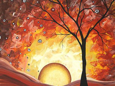 Frozen Fire-Megan Aroon Duncanson-Art Print