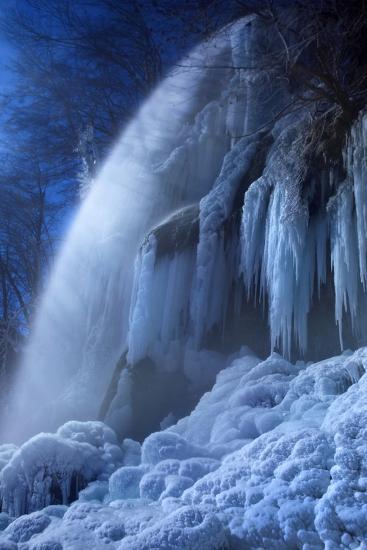 Frozen in the Moonlight-Franz Schumacher-Photographic Print
