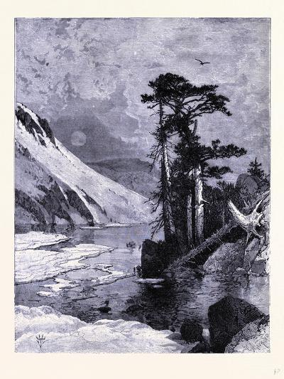 Frozen Lake Fort Seen from James Peak United States of America--Giclee Print