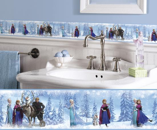 Frozen L And Stick Border Wall Decal By Art