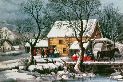 Frozen Up, 1872--Giclee Print