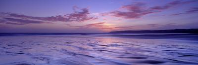 Frozen Water in a Bay, Filey Bay, Yorkshire, England, United Kingdom--Photographic Print