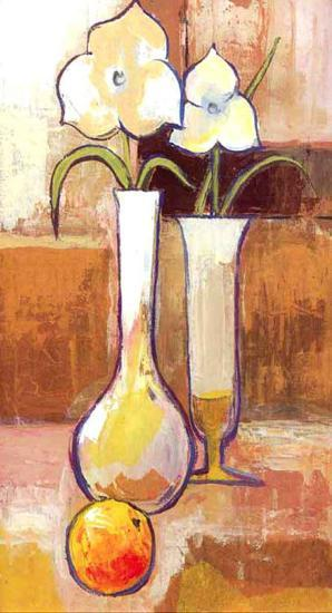 Fruit and Flower Composition-Ranz-Art Print