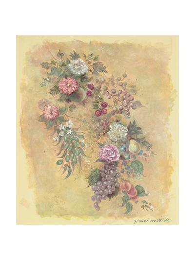 Fruit and Flowers-Naomi McBride-Art Print