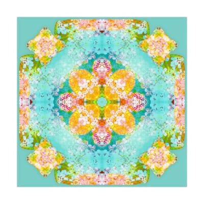 Fruit Blossom Mandala-Alaya Gadeh-Art Print