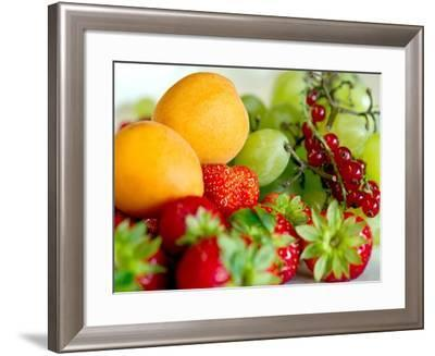 Fruit Bowl in the Saxon Village of Oberfrauenwald--Framed Photo