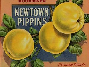 Fruit Crate Labels: Newtown Pippins; Davidson Fruit Company