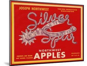 Fruit Crate Labels: Silver Spur Northwest Apples
