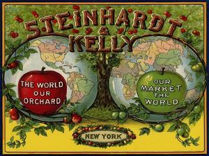 Fruit Crate Labels: Steinhardt and Kelly; New York, New York
