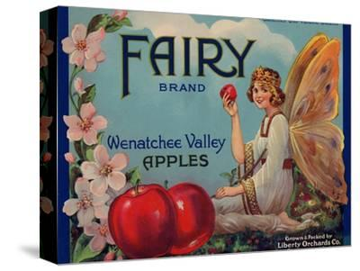 Fruit Crate Labels: Wenatchee Valley Apples; Fairy Brand