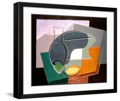 Fruit-Dish and Carafe, 1927-Juan Gris-Framed Giclee Print