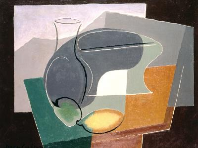 Fruit-Dish and Carafe, 1927-Juan Gris-Giclee Print