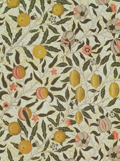 Fruit or Pomegranate Wallpaper Design-William Morris-Giclee Print