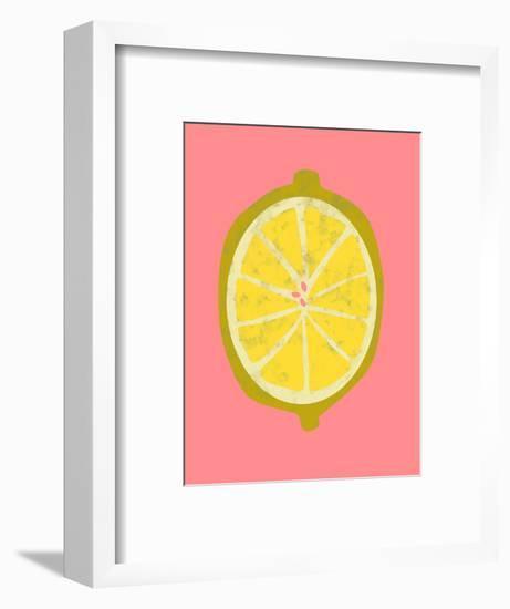 Fruit Party II-Chariklia Zarris-Framed Art Print