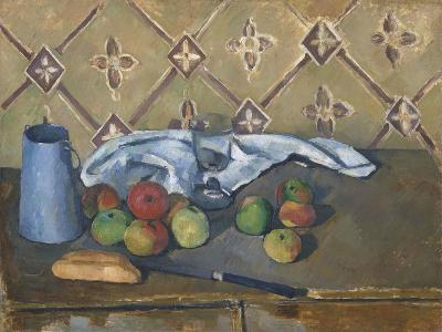 Fruit, Serviette and Milk Jug-Paul C?zanne-Giclee Print